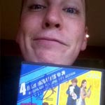 Travis, winner of an Austin Powers 1-3/Spies Like Us DVD signed by Mindy Sterling!