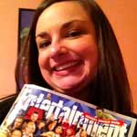Karrah, winner of the Pop My Cork 2012 Entertainment Weekly signed by all the guests!