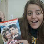 Leslie, winner of the Grease DVD signed by EDDIE DEEZEN!