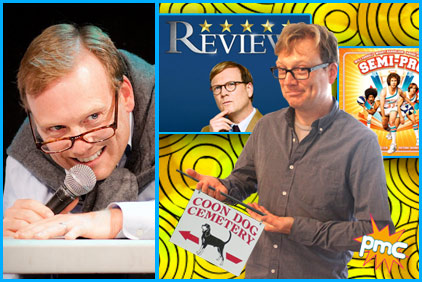 Andy Daly guest on pop my culture podcast