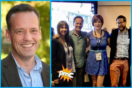 Dee Bradley baker on the pop my culture podcast