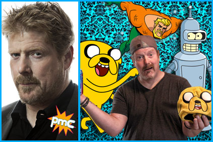John DiMaggio guest on Pop My Culture podcast