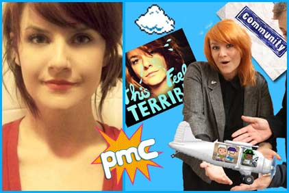 Erin McGathy guest on Pop My Culture podcast