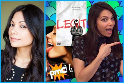 Ginger Gonzaga interview on pop my culture podcast