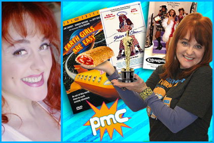 Julie Brown past guest on Pop My Culture podcast