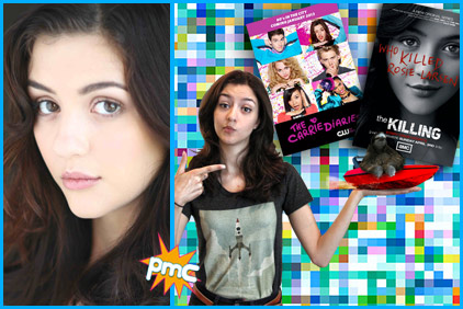 Katie Findlay guest on Pop My Culture podcast