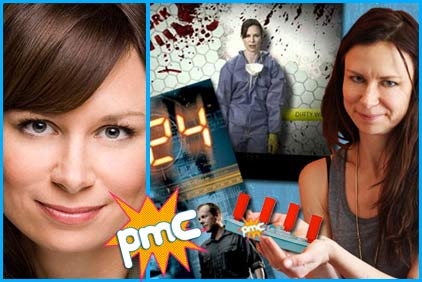 Mary Lynn Rajskub guest on Pop my Culture podcast