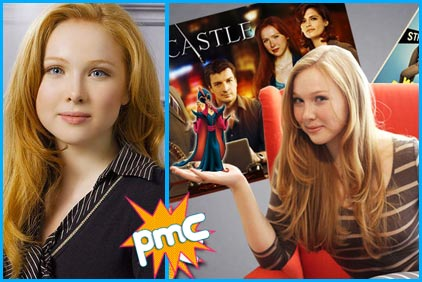 Molly Quinn guest on Pop My Culture podcast