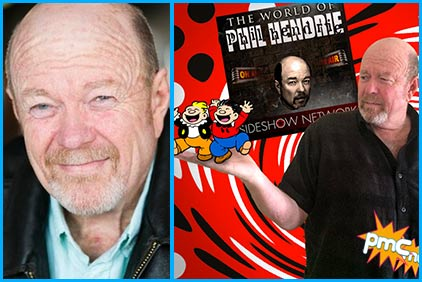 Phil Hendrie interview on Pop My Culture podcast