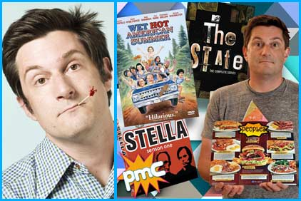 Michael Showalter interviewed on Pop My Culture podcast