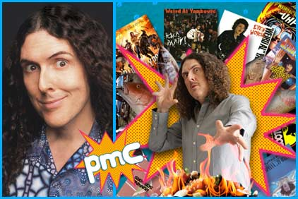 """Weird Al"" Yankovic guest on Pop My Culture podcast"