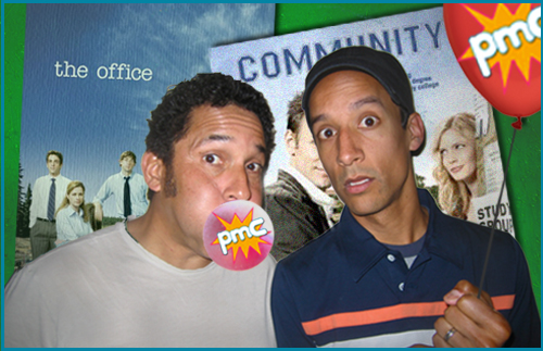 Oscar Nunez and Danny Pudi guests on Pop My Culture