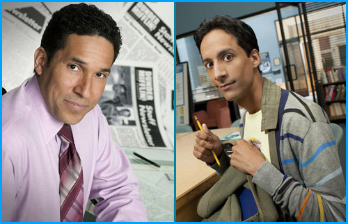 Danny Pudi and Oscar Nunez - guests on Pop My Culture Podcast