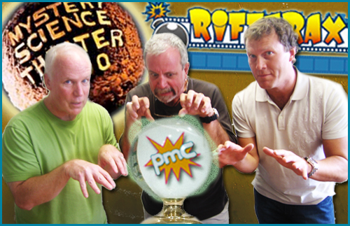 Michael J. Nelson, Kevin Murphy, and Bill Corbett guests on Pop My Culture