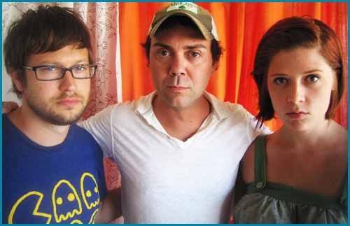 hosts Cole Stratton and Vanessa Ragland with guest Joe Lo Truglio interviewed