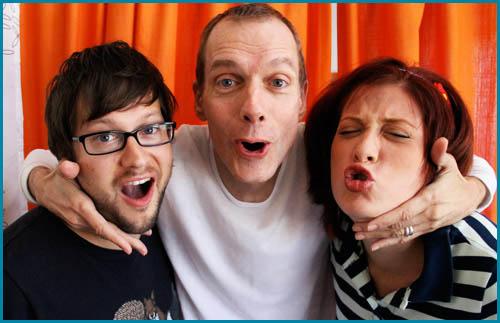 Doug Jones and Hosts Cole Stratton and Vanessa Ragland