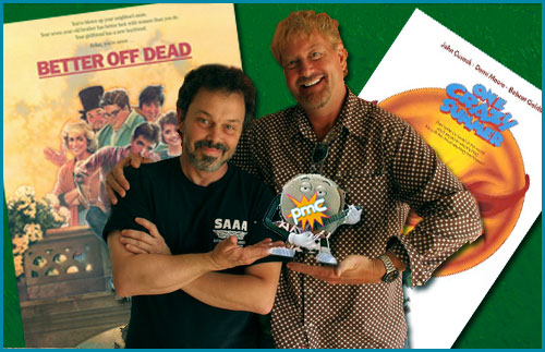 Curtis Armstrong and Savage Steve Holland