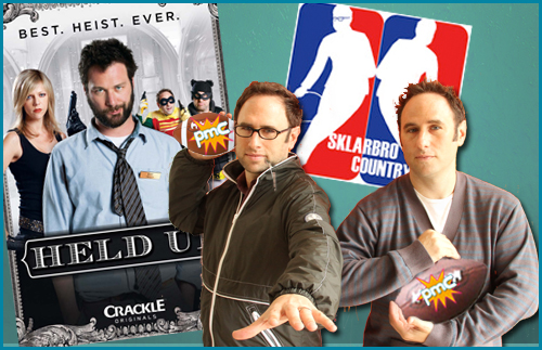 The Sklar Brothers guests on Pop My Culture Podcast