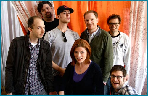 Ben Acker, Ben Blacker, Marc Evan Jackson, Colin Hanks, and James Urbaniak on PMC Podcast