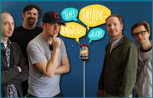 The Thrilling Adventure Hour on Pop My Culture Podcast