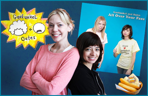 Garfunkel & Oates on Pop My Culture Podcast