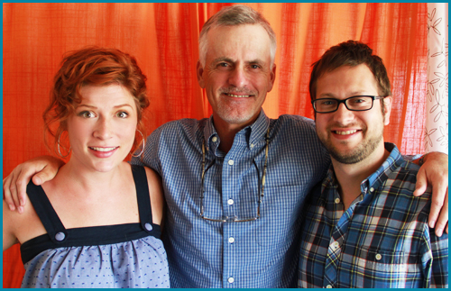 Rob Paulsen interviewed by hosts Vanessa Ragland and Cole Stratton