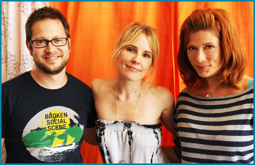 Emma Caulfield interviewed by hosts Cole Stratton and Vanessa Ragland