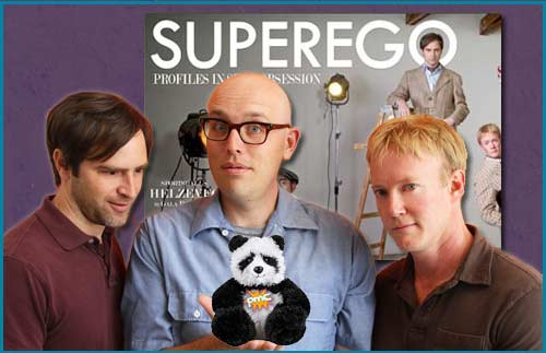 Superego podcast interviewed