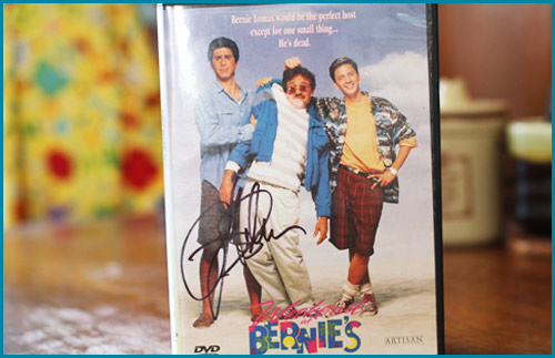 Signed Weekend at Bernies DVD - Starring Jonathan Silverman