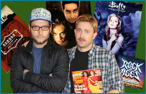 Tom Lenk and Adam Busch from Buffy on Pop My Culture Podcast