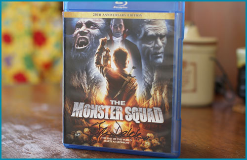 The Monster Squad signed by Fred Dekker