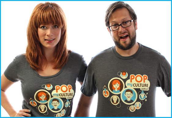 New Pop My Culture Podcast shirts