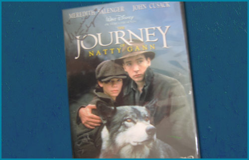 Meredith Salenger in Journey of Natty Gann signed DVD