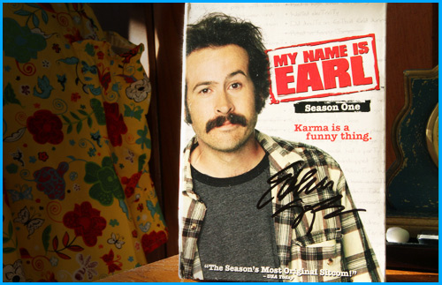 My Name is Earl DVD signed by Ethan Suplee