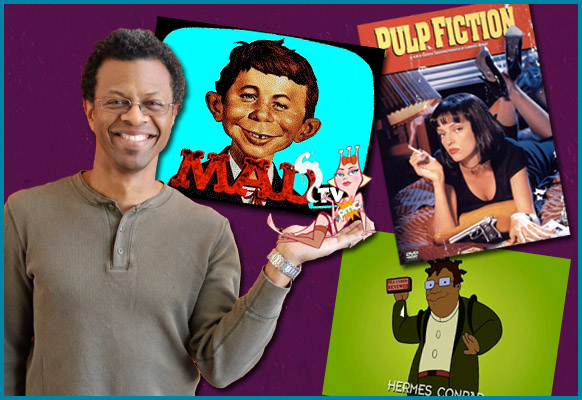 Phil LaMarr interviewed on Pop My Culture Podcast
