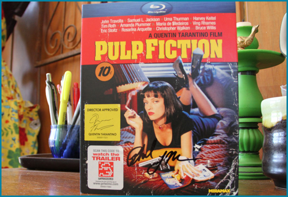 Pulp Fiction signed by Phil LaMarr