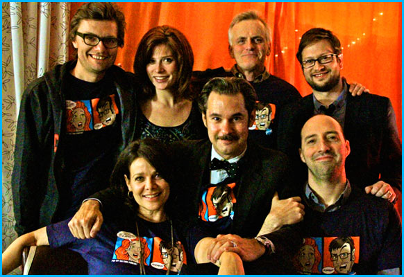 Tony Hale, Paul F. Tompkins, Rob Paulsen, Vanessa Ragland, Cole Stratton, James Urbaniak