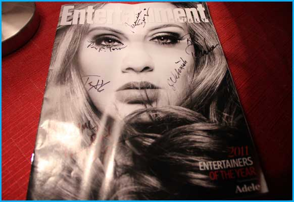 Signed Entertainment Magazine 2011