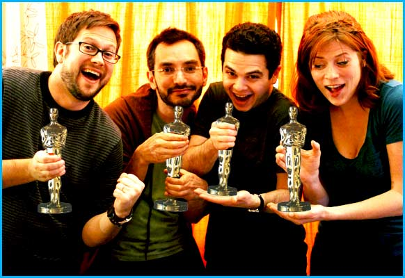 Pop my Culture talk oscars with Myq Kaplan and Samm Levine