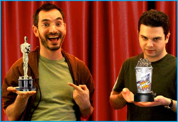 Myq Kaplan and Samm Levine give their oscar lists 2012