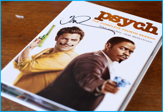 Signed Psych DVD
