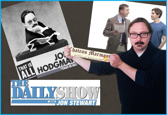 John Hodgman interviewed on Pop My Culture Podcast