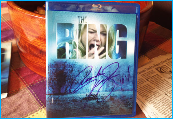 Amber Tamblyn signed copy of The Ring BluRay