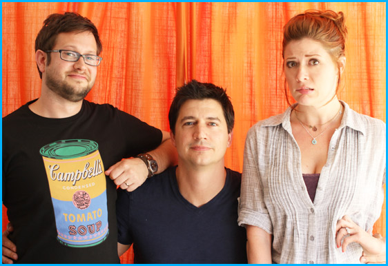 Ken Marino interview with hosts Cole Stratton and Vanessa Ragland