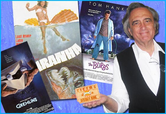 Joe Dante interviewed on Pop My Culture