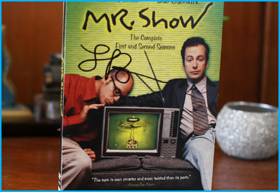 Mary Lynn Rajskub signed Mr. Show DVD