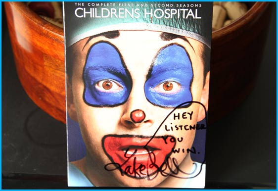 Signed Childrens Hospital DVD by Lake Bell