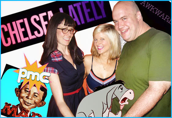 Arden Myrin, April Richardson and Guy Branum guests on Pop My Culture podcast
