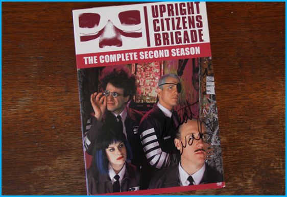 Matt Walsh signed Upright Citizens Brigade DVD