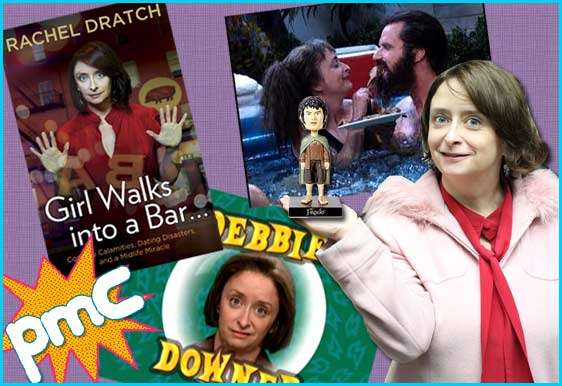Rachel Dratch from SNL guest on Pop My Culture podcast